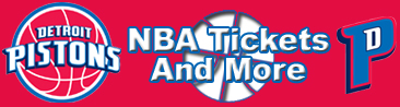 Detroit Pistons Tickets and More